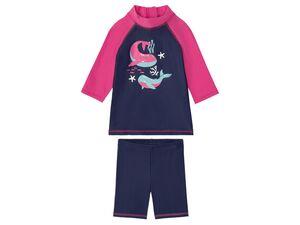 LUPILU® Kleinkinder Schwimmset Mädchen, Reißverschluss