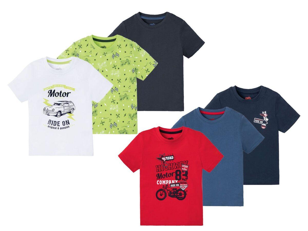 Bild 1 von LUPILU® Kleinkinder T-Shirts Jungen, 3 Stück