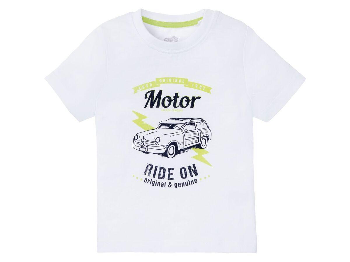 Bild 3 von LUPILU® Kleinkinder T-Shirts Jungen, 3 Stück