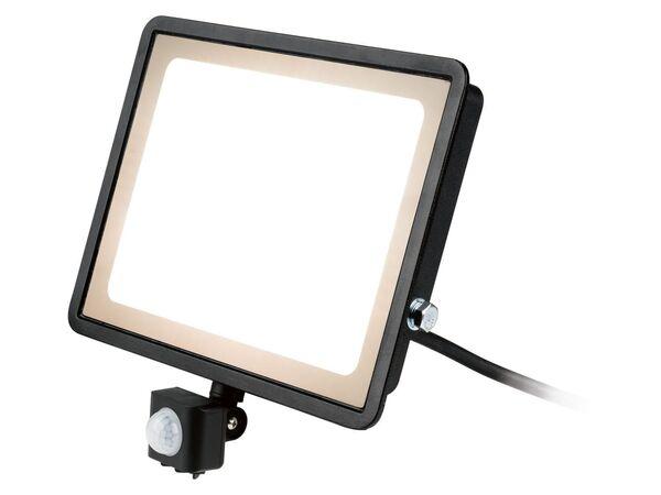 LIVARNO LUX® Strahler, mit Bewegungsmelder 100W, LED