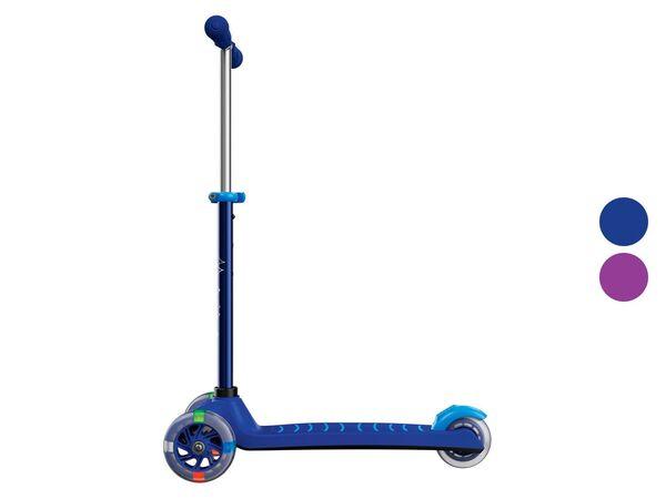 PLAYTIVE® Tri Scooter, LED-Beleuchtung der Vorderrollen