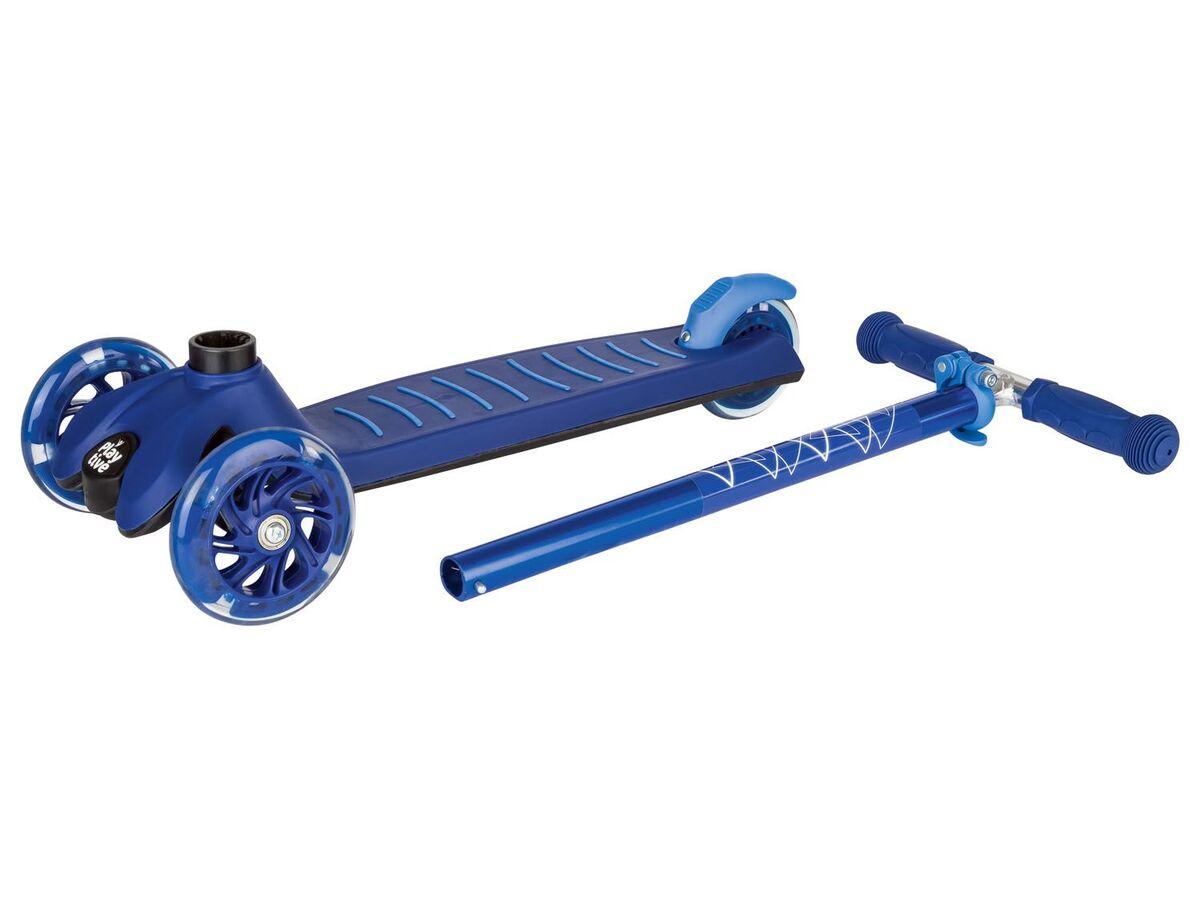 Bild 3 von PLAYTIVE® Tri Scooter, LED-Beleuchtung der Vorderrollen