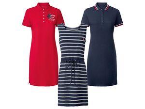 ESMARA® Kleid Damen, in hochwertiger Pikee-Qualität