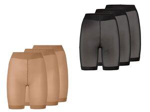ESMARA® Strumpf-Panties Damen, 3 Stück, mit Komfortbund