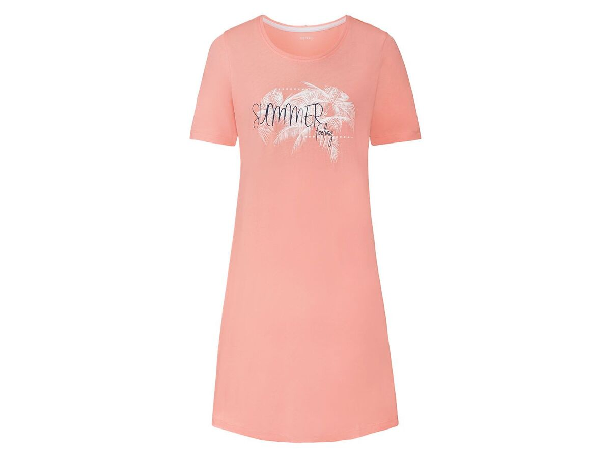 Bild 2 von ESMARA® Bigshirt Damen, mit Rundhalsausschnitt