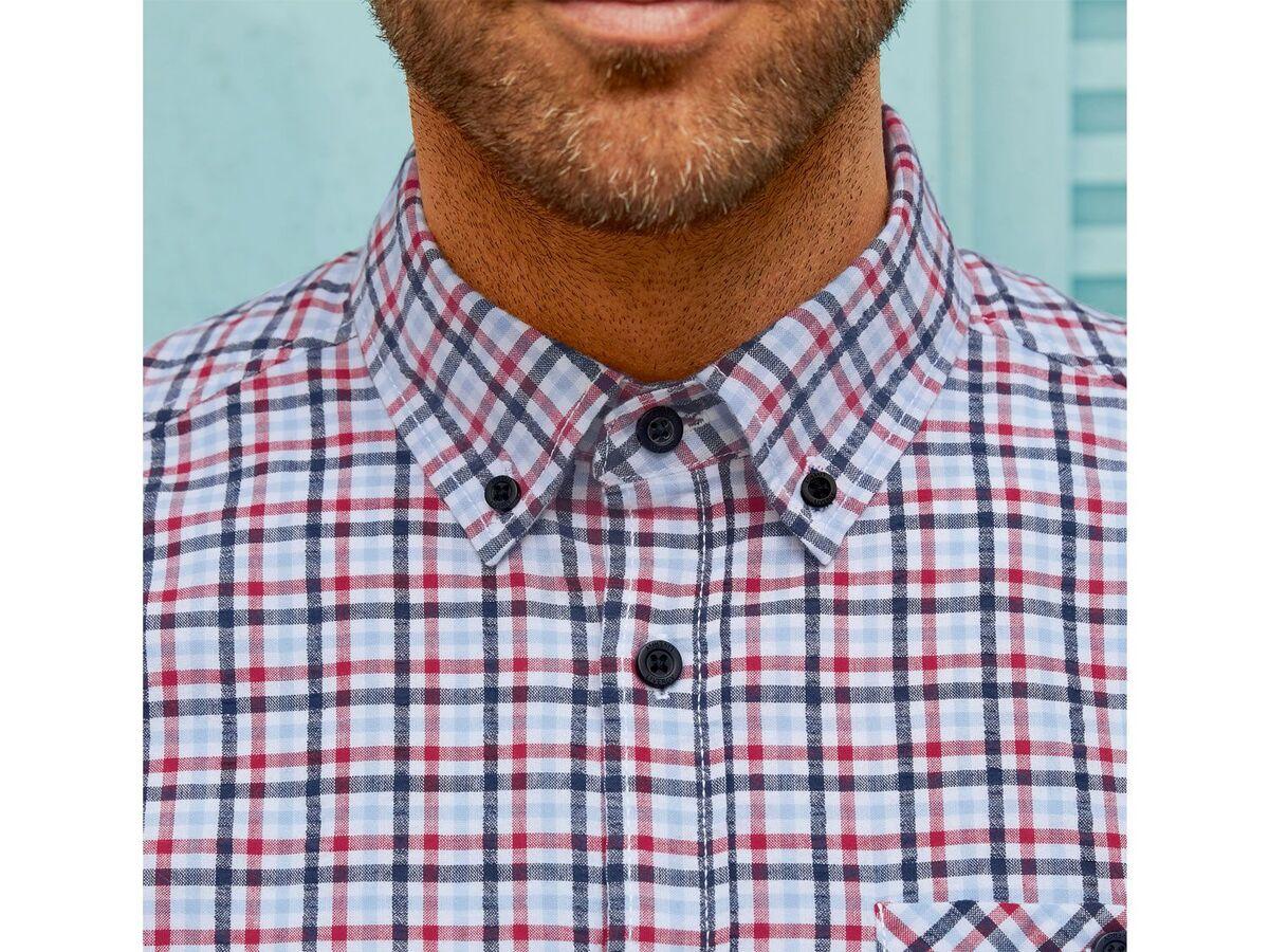 Bild 5 von LIVERGY® Freizeithemd Herren, aus reiner Baumwolle