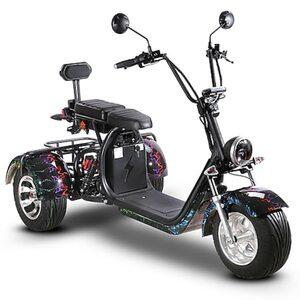 Elektro-Trike Como³ 25 km/h multicolour