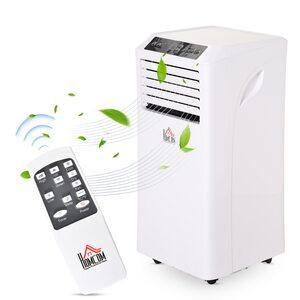 Homcom Mobile Klimaanlage weiß