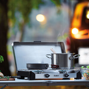 Premium Campingkocher Brisbane 2Z1