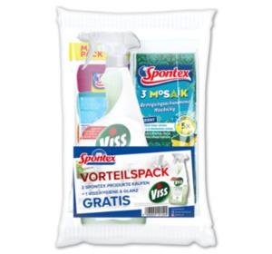 SPONTEX Reinigungshelfer-Set im Vorteilspack