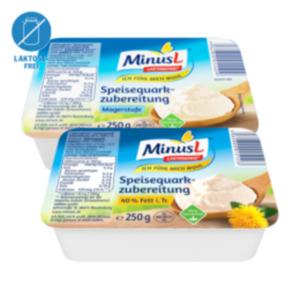 MinusL Speisequarkzubereitung