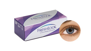 FreshLook® COLORBLENDS® - Grey Farblinsen Sphärisch 2 Stück unisex