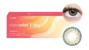 Clearcolor™ 1-Day - Green Farblinsen Sphärisch 10 Stück unisex