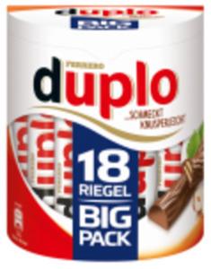Ferrero Duplo oder Kinderriegel Big-Pack