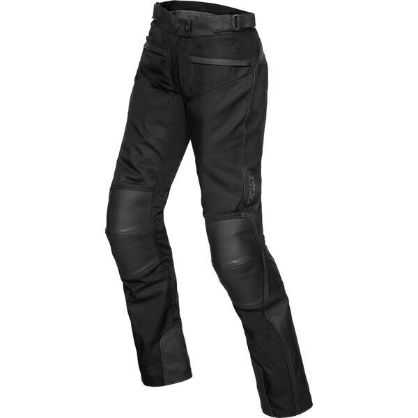 FLM Touren Damen Leder-/ Textilhose 3.0 schwarz Größe 38