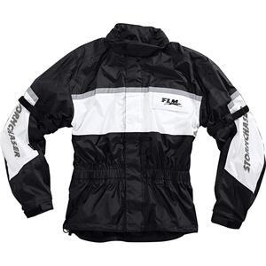 FLM Sports Membran Regenjacke 1.0 weiß Unisex Größe M