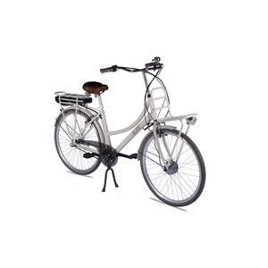 """LLobe              City E-Bike """"Rosendaal 2"""", Damen, 15,6Ah, beige"""