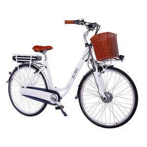 "LLobe              Trekking E-Bike ""White Motion 2.0"", 13,2 Ah, weiß"