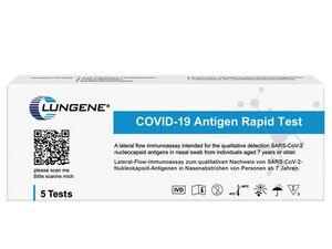 1.000er Set Clungene COVID-19 Rapid Antigen-Schnelltest