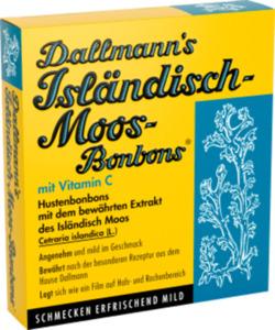 Dallmann's Isländisch-Moos-Bonbons Hustenbonbons