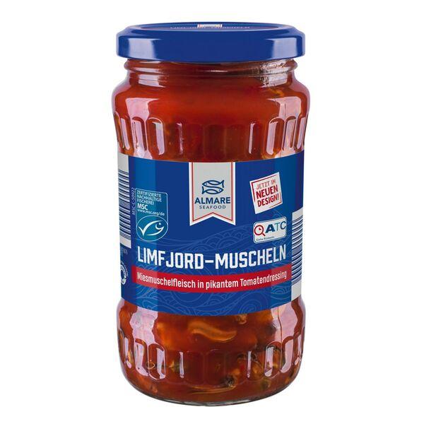 ALMARE Limfjord-Muscheln im Glas 350 g