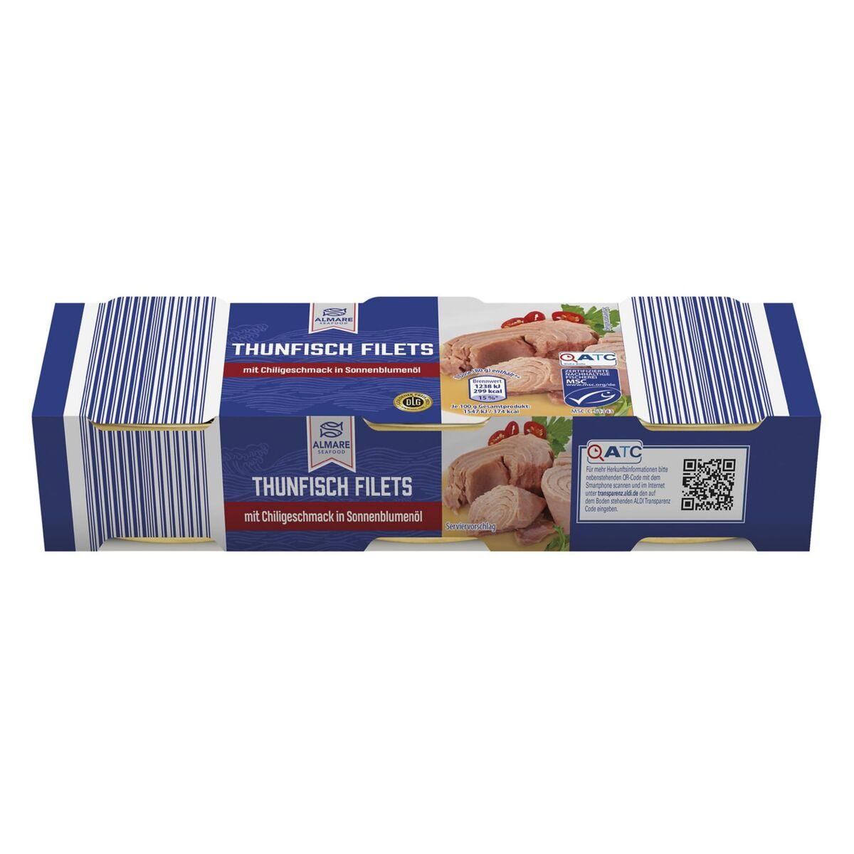 Bild 1 von ALMARE Mini-Pack Thunfisch 240 g
