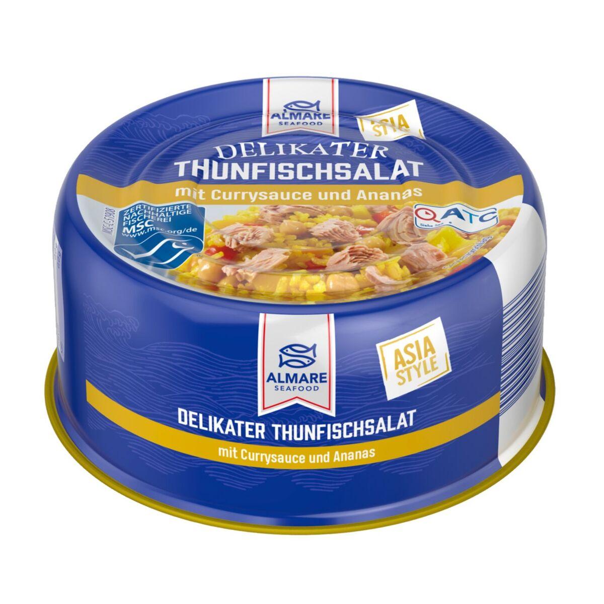 Bild 1 von ALMARE Thunfischsalat Asia Style 280 g