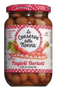 Le Conserve della Nonna Fagioli Borlotti - Borlotti-Bohnen in Salzlake 0000 - Konserven, Italien, 0.3600 kg