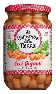 Le Conserve della Nonna Ceci Giganti - Kichererbsen in Salzlake 360g 0000 - Konserven, Italien, 0.3600 kg