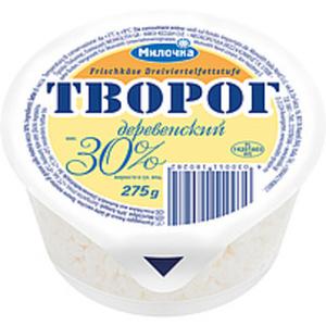 """Frischkäse """"Tworog Derewenskij"""" 30% Fett i.Tr."""