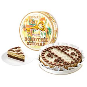 """Torte """"Solotoj Kljuchik"""" mit 31,6% Cremefüllung mit gezucker..."""