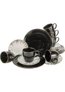 Kaffee-Service mit Goldrand (18-tlg.Set)