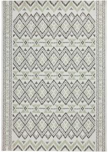 In- und Outdoor Teppich mit grafischem Muster