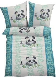 Bettwäsche mit Panda Motiv