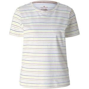 Tom Tailor T-Shirt, Streifen, Rundhals, Kurzarm, für Damen