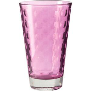 "Leonardo Trinkbecher ""Optic"", Glas, 300 ml, viola"