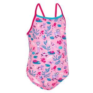 Badeanzug Baby Mädchen rosa Print