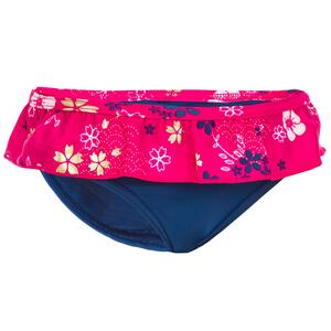 Badehose Slip Babys/Kleinkinder bedruckt Blumen blau