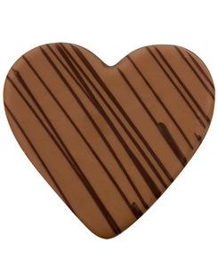 Nougat-Herz Vollmilch- und Zartbitterschokolade von arko, 60 g
