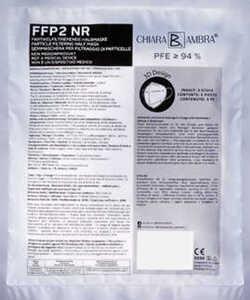 Partikelfiltrierende Halbmaske FFP2 NR