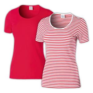Ellenor Modisches T-Shirt 2er-Pack