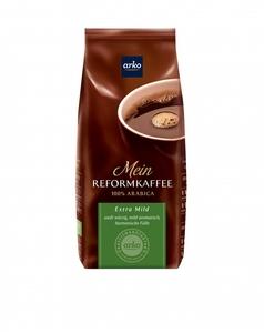 Kaffee REFORMKAFFEE Extra Mild von arko, 500g Bohnen