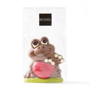 Schokoladen-Frosch Romeo von Hussel, 125g