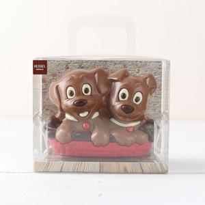 Schokoladen Hundekörbchen von Hussel, 225g