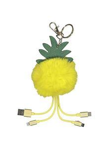 HEMA 3-in-1-Ladekabel Ananas