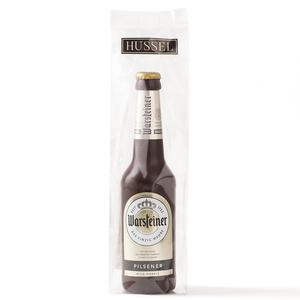 Bierflasche aus Schokolade von Hussel, 130g