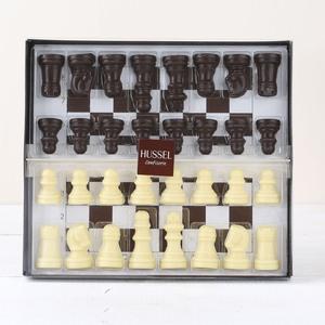 Schachspiel aus Schokolade von Hussel, 150g