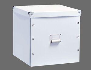 Aufbewahrungsbox weiß groß