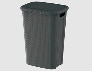Wäschebox anthrazit