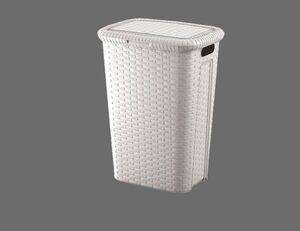 Wäschebox naturgrau